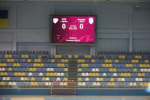 Светодионый экран в спортивном зале