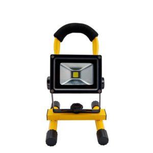 Прожектор автономный заряжаемый 10 Вт с батареей ra10W CW