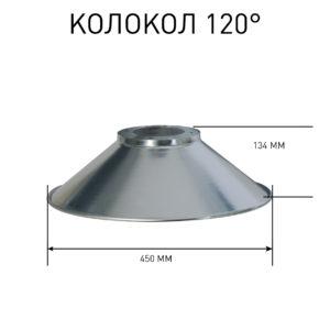 Светильник светодиодный колокол Эмиттер AIX COB 100 Вт IP 65 для павильонов