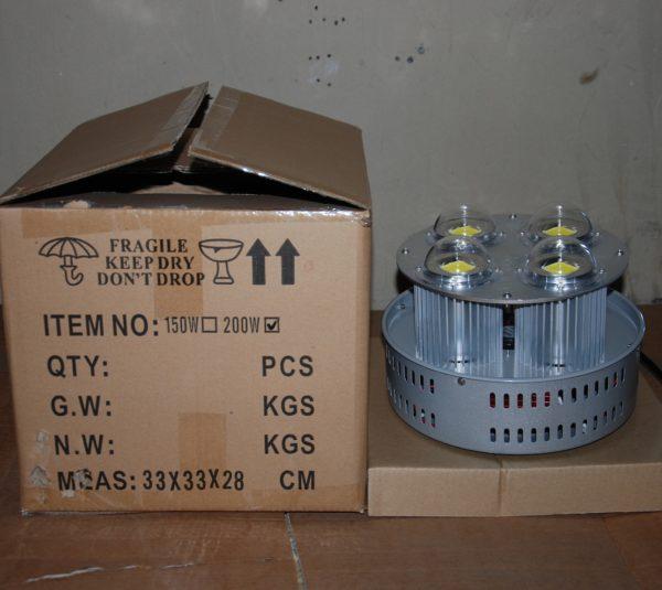 Светильник светодиодный колокол для высоких потолков Эмиттер AIX COB 200 Вт IP 44