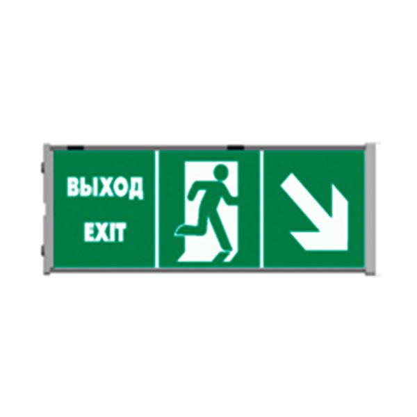 Светильник указатель АС ДСП 013 40 Вт аварийного освещения