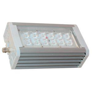 Светильник светодиодный АС ДСП 014 Блок 2х55 с линзами