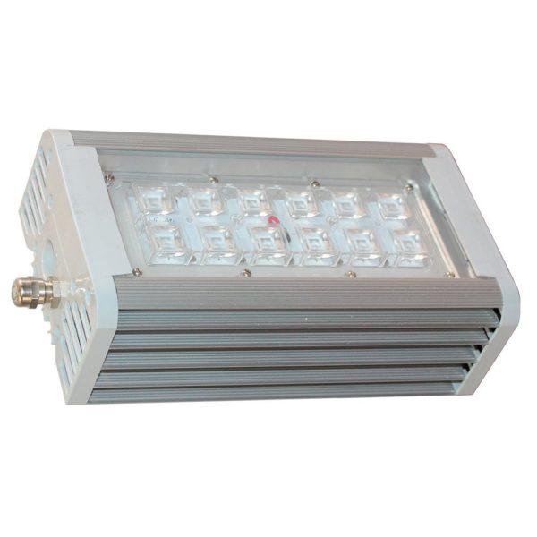Светильник светодиодный АС ДСП 014 Блок 2х70 с линзами