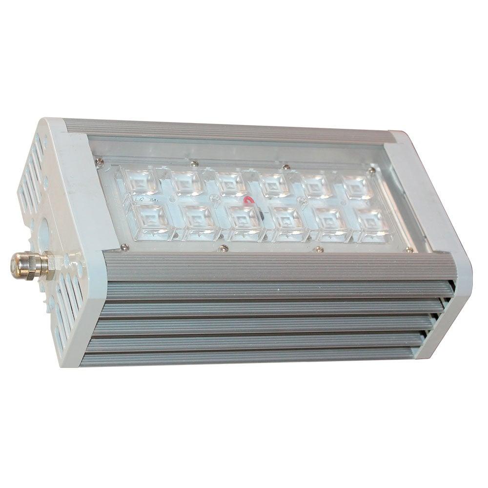 Светильник светодиодный АС ДСП 014-90, 100 с линзами