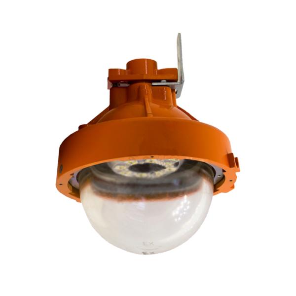 Светильник светодиодный взрывозащищенный ДСП 72 40 Вт с сеткой