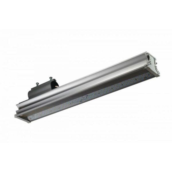 Консольный светодиодный уличный светильник ДВУ 100 Вт IP66 5000К