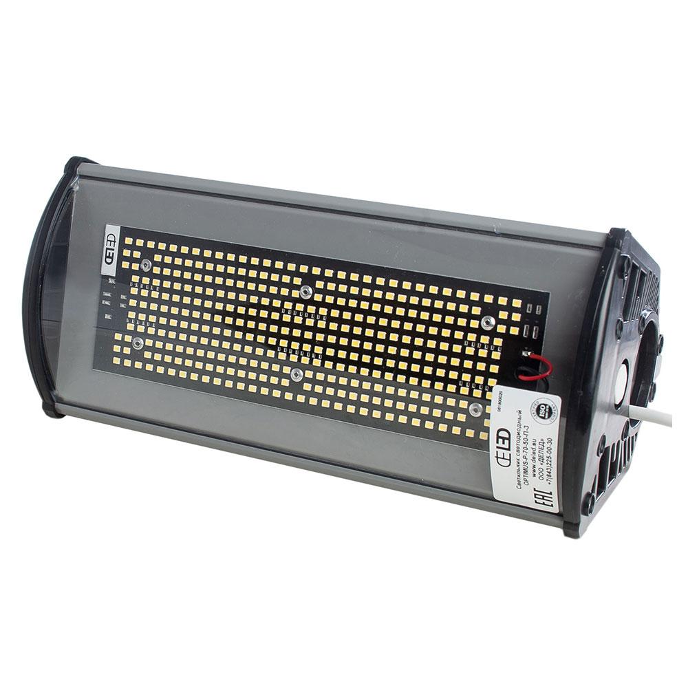 Складской светодиодный светильник OPTIMUS-P-50-50-П 49 Вт