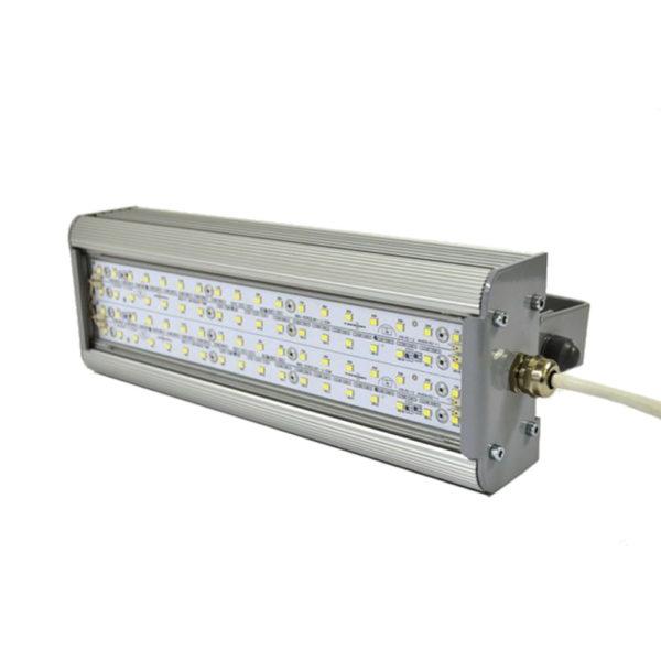 Светильник светодиодный промышленный Вега Лэд 100Вт IP65 640х106х56 мм
