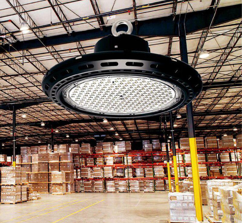 Светильник НЛО для высоких потолков