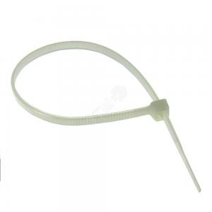 Хомут нейлон белый (100 шт. в упаковке)