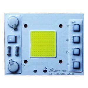 Светодиодная матрица 50 Вт с встроенным блоком питания