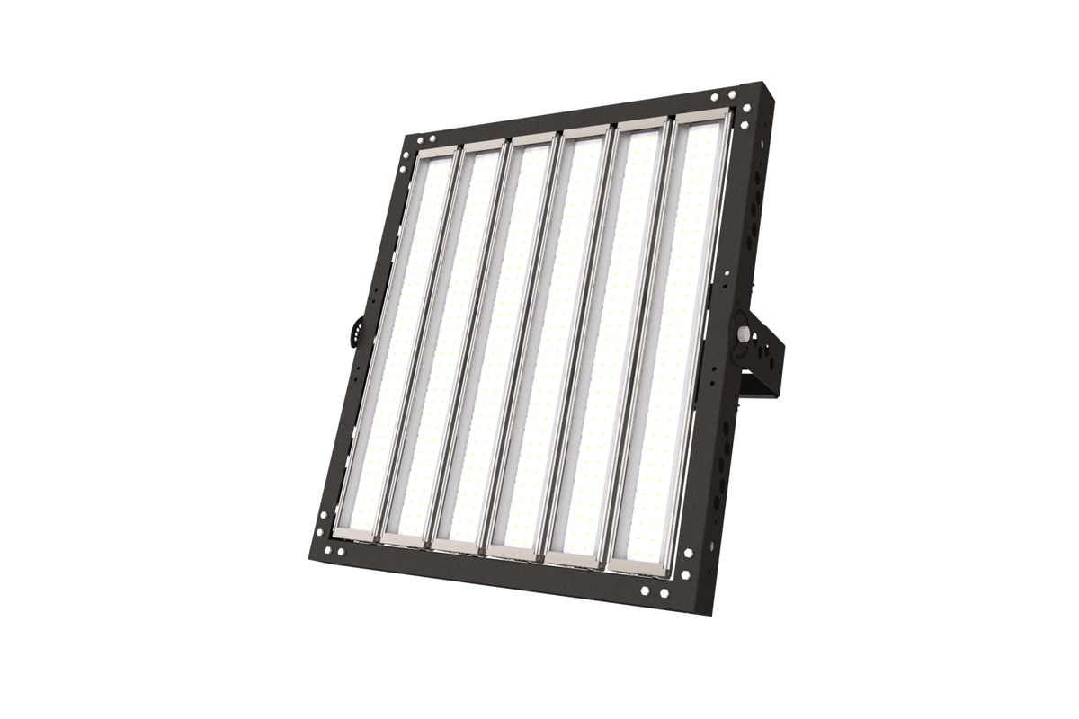 Светодиодный прожектор уличного освещения Эльбрус 384.129000.910 910Вт IP67