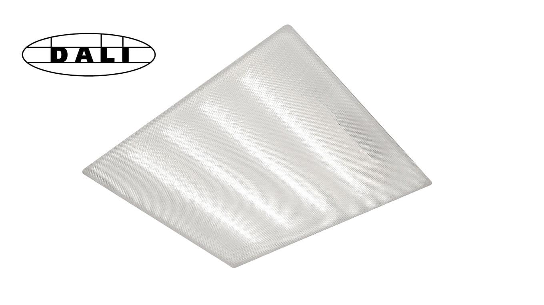 Светодиодный светильник армстронг SVT-ARM-U-AIR-595x595x34-29Вт-PR-DALI-IP54