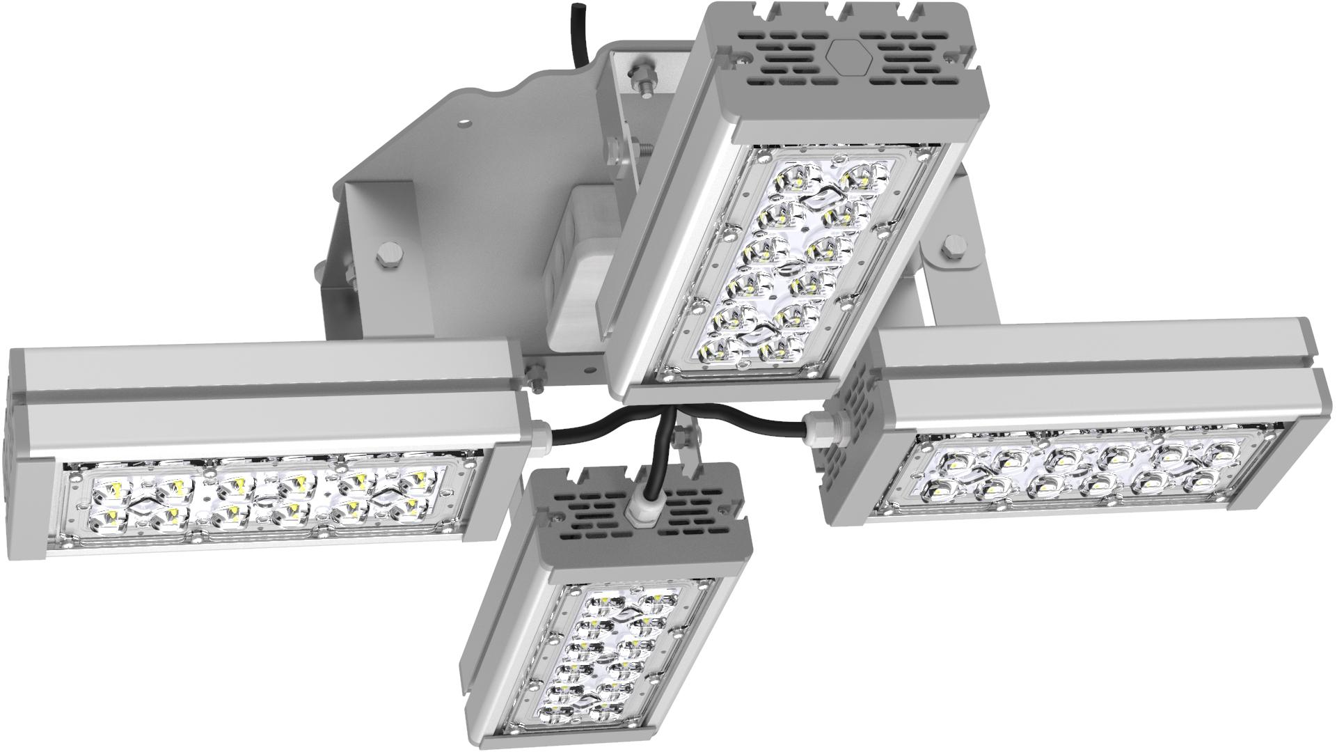 Светильник подвесной Ромашка High-Bay SVT-P-FLOWER-108Вт-58 (с защитой от 380В, трос)