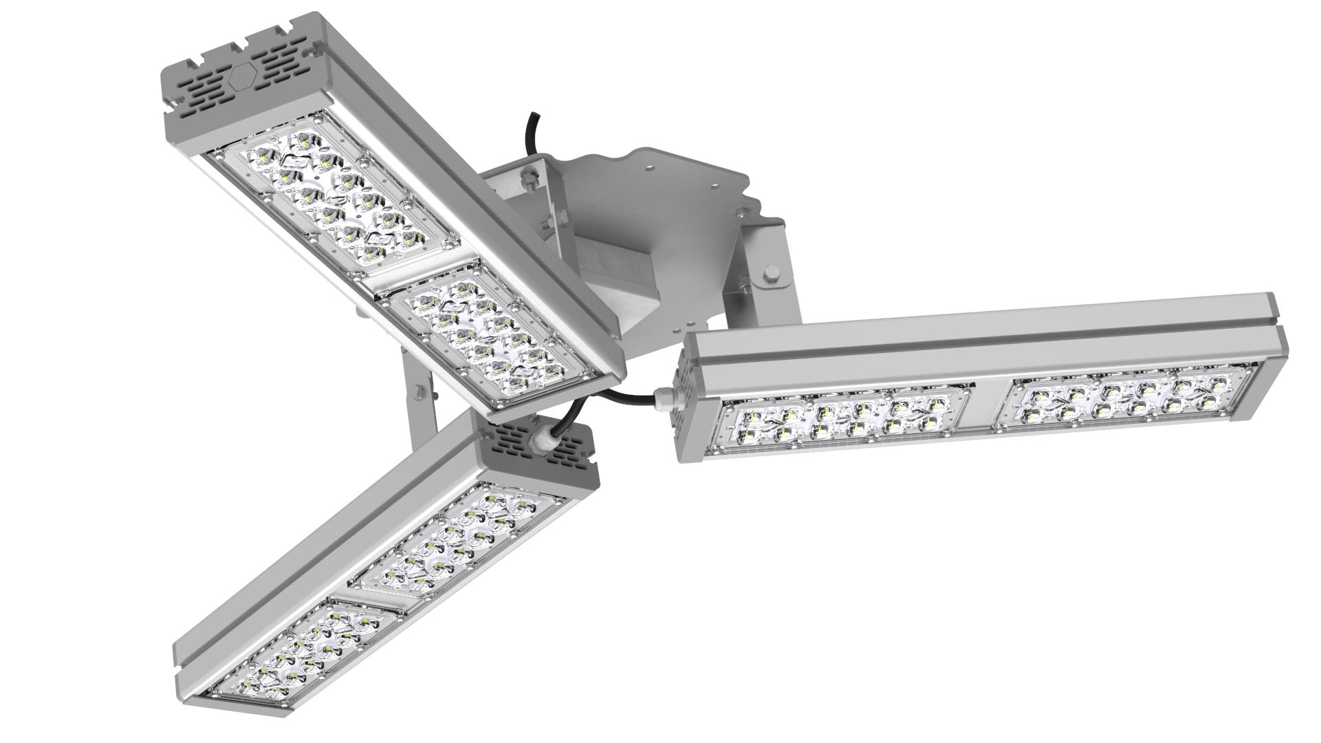 Светильник подвесной Ромашка High-Bay SVT-P-FLOWER-159Вт-58 (с защитой от 380В, трос)