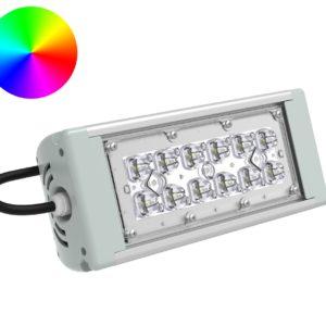 DMX-прожектор SVT-STR-RGB-MPRO-27Вт-58-DMX
