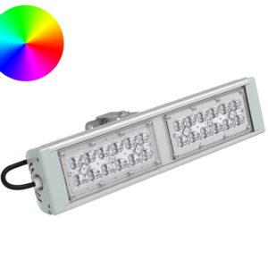 DMX-прожектор SVT-STR-RGB-MPRO-53Вт-58-DMX