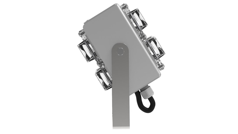 Мини-прожектор двухлучевой SVT-STR-2MX-18Вт-25-3000К-DS