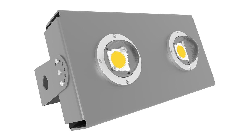 Прожектор светодиодный термостойкий Модуль SVT-STR-eCOB-80Вт-45