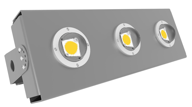 Прожектор светодиодный термостойкий Модуль SVT-STR-eCOB-120Вт-60