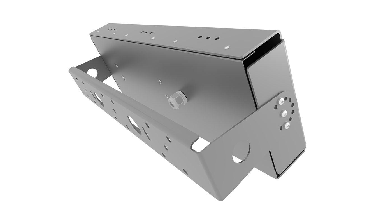 Прожектор светодиодный термостойкий Модуль SVT-STR-eCOB-120Вт-45