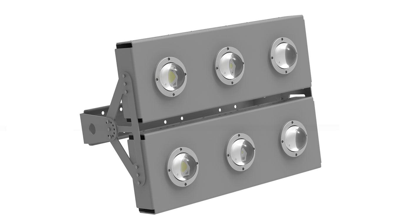 Прожектор светодиодный SVT-STR-COB-180Вт-135x75-DUO