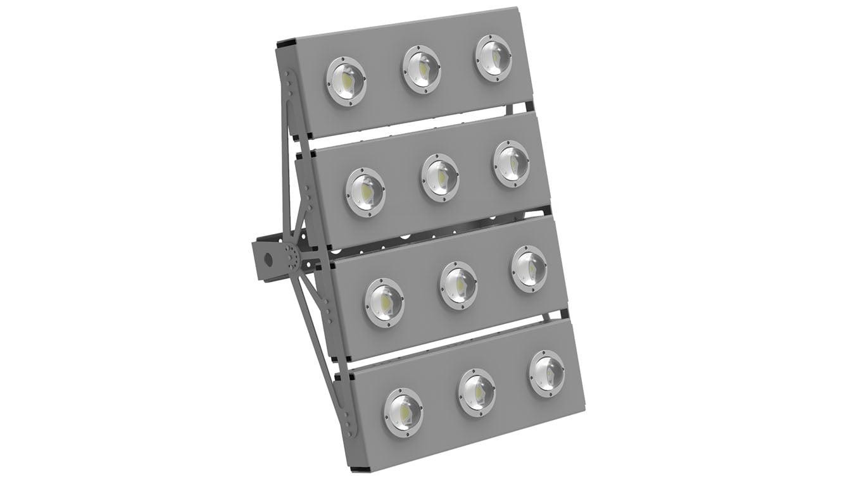 Прожектор светодиодный SVT-STR-COB-180Вт-60-QUATTRO