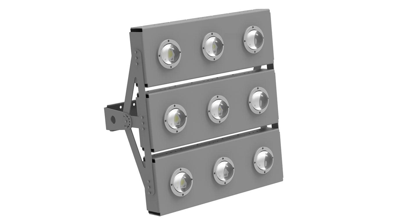 Прожектор светодиодный SVT-STR-COB-180Вт-135x75-TRIO