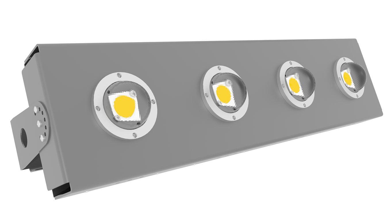 Прожектор светодиодный термостойкий Модуль SVT-STR-eCOB-160Вт-45