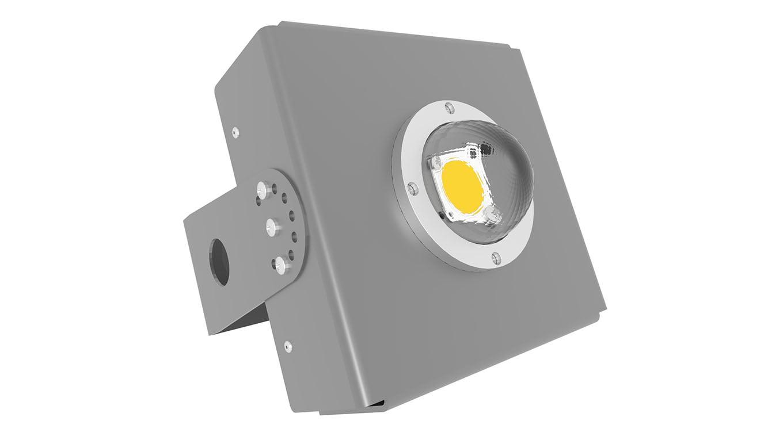 Прожектор светодиодный SVT-STR-COB-60Вт-135x75