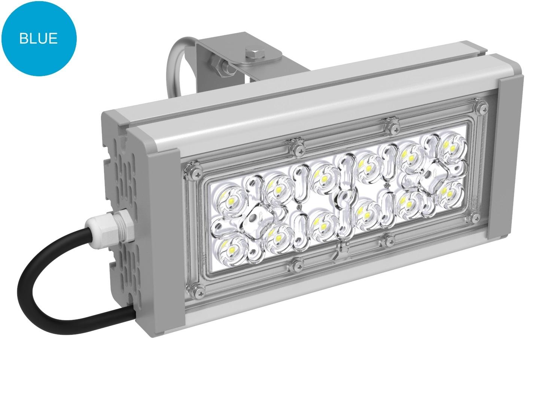 Прожектор с оптикой голубой SVT-STR-M-30Вт-12-BLUE