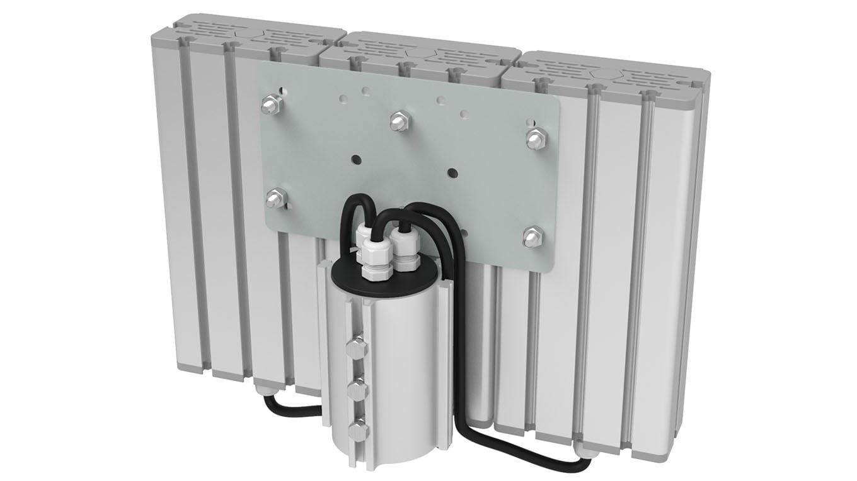 Промышленный прожектор Модуль SVT-STR-M-27Вт-45x140-TRIO-С