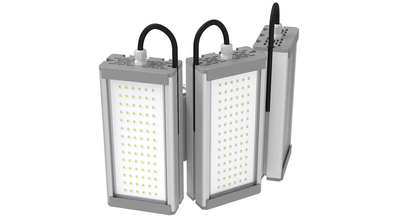 Промышленный светильник Модуль SVT-STR-M-32Вт-TRIO90 (с защитой от 380)