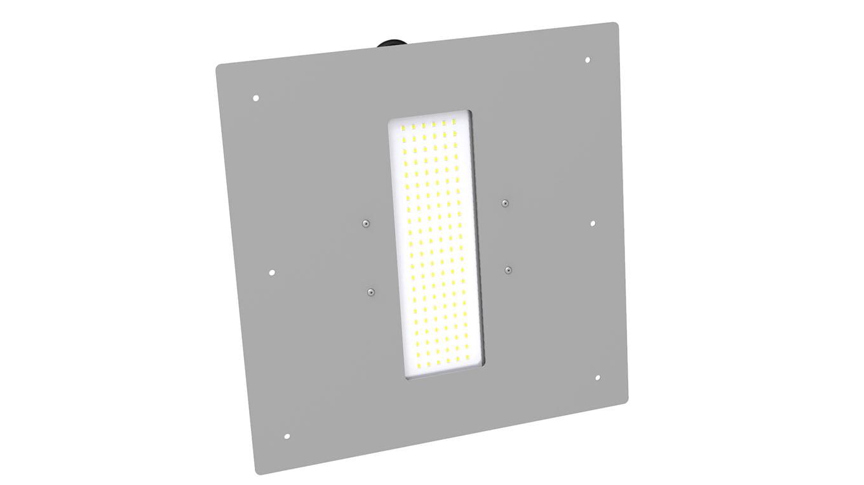 Светильник для АЗС Модуль SVT-STR-M-48Вт-AZS (рамка 350х350)