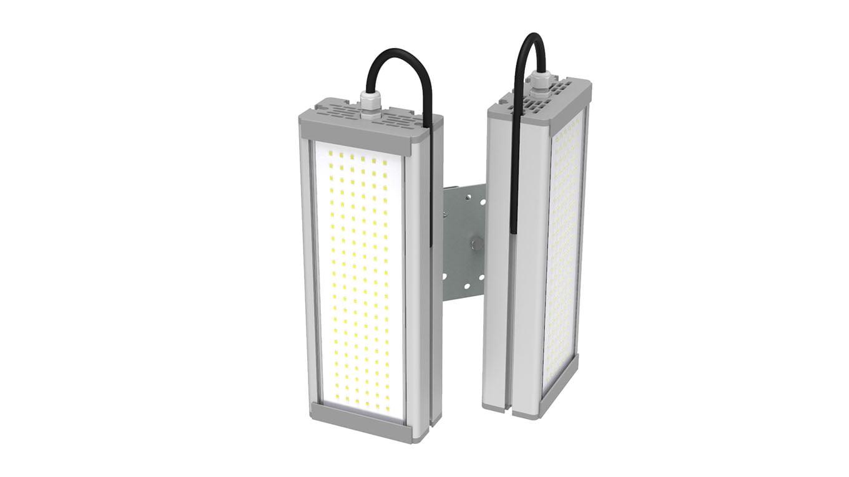 Промышленный светильник Модуль SVT-STR-M-48Вт-DUO90 (с защитой от 380)