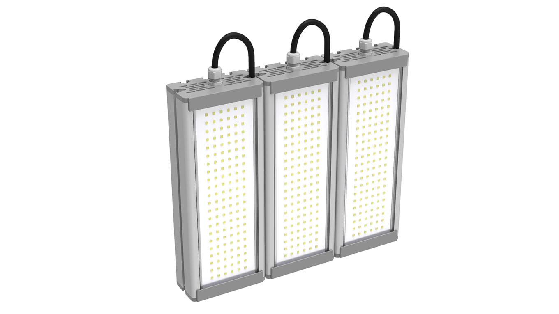 Промышленный светильник Модуль SVT-STR-M-48Вт-TRIO (с защитой от 380)