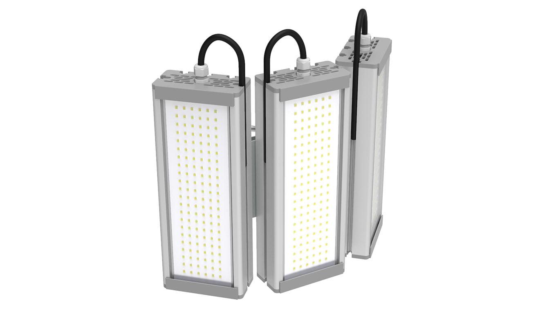 Промышленный светильник Модуль SVT-STR-M-48Вт-TRIO90 (с защитой от 380)
