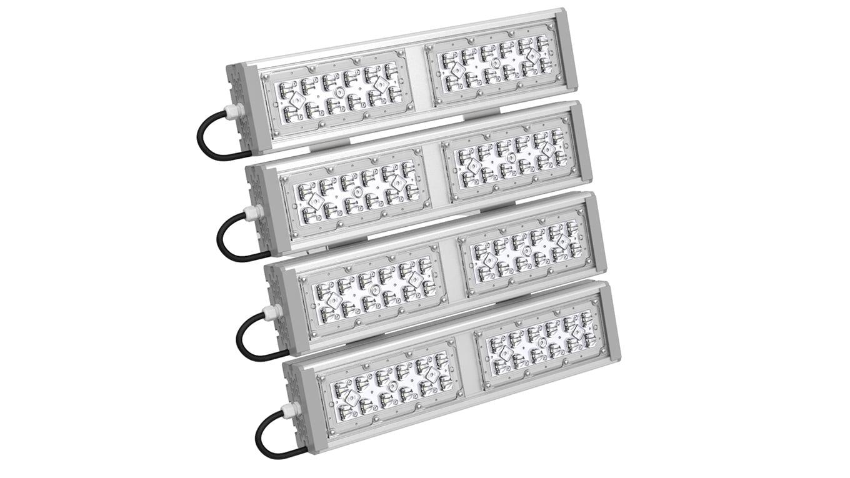 Промышленный прожектор Модуль SVT-STR-M-53Вт-45x140-QUATTRO (с защитой от 380)