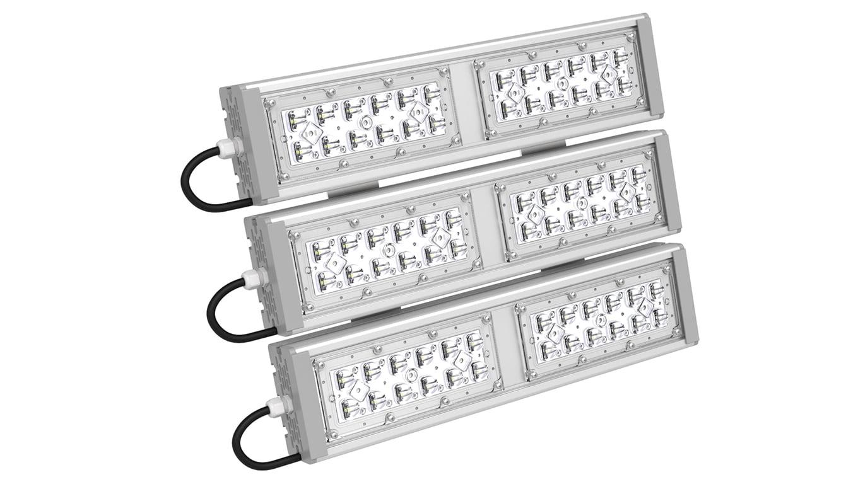 Промышленный прожектор Модуль SVT-STR-M-53Вт-30x120-TRIO (с защитой от 380)