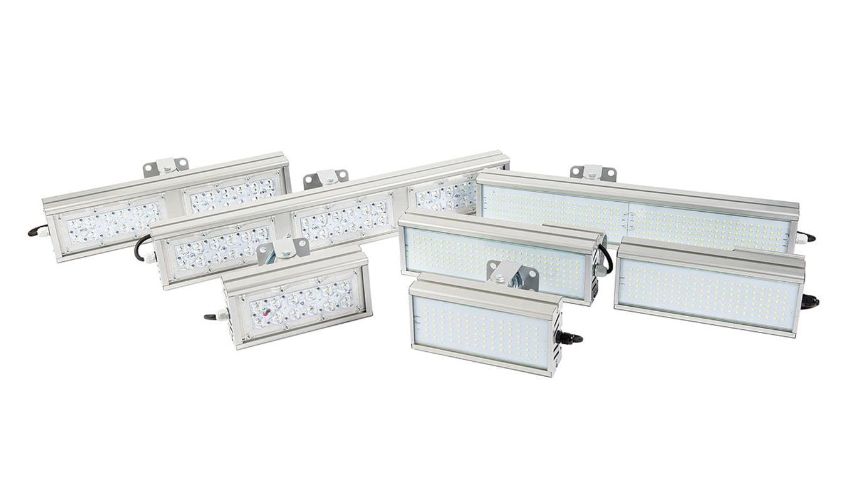 Промышленный светильник Модуль SVT-STR-M-61Вт-DUO90 (с защитой от 380)