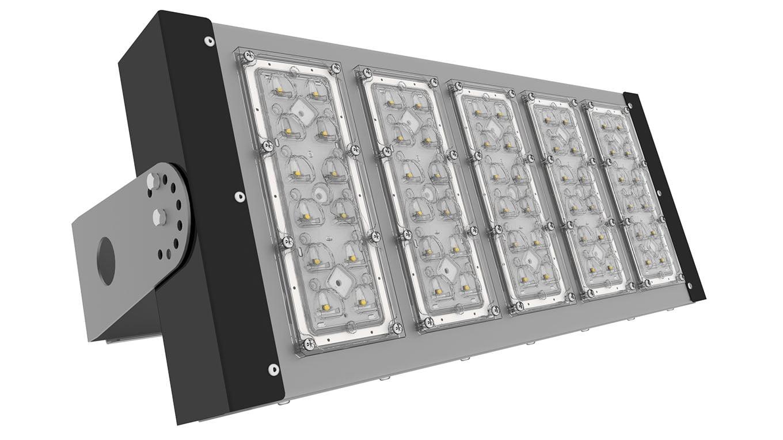 Прожектор светодиодный SVT-STR-PSL-131Вт-45x140