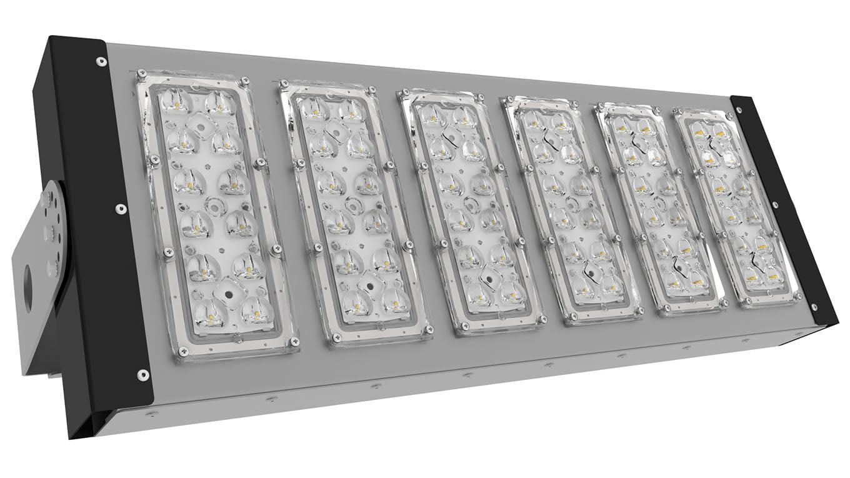 Прожектор светодиодный SVT-STR-PSL-156Вт-45x140