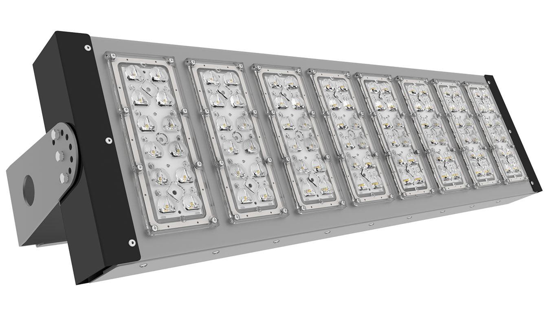 Прожектор светодиодный спортивный SVT-STR-PSL-211Вт-30x120 (Sport CRI90 5700K CREE)