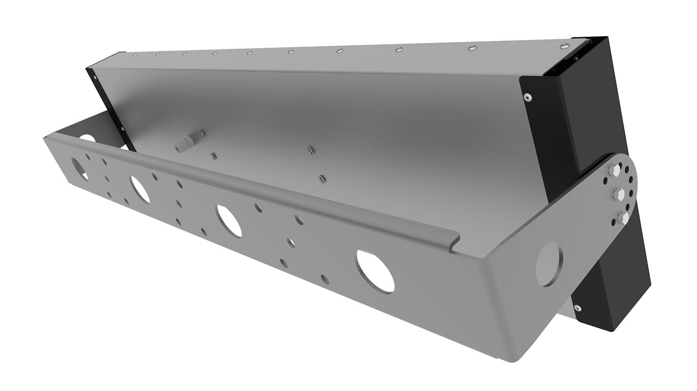 Прожектор светодиодный спортивный SVT-STR-PSL-235Вт-VSM (Sport CRI90 5700K CREE)