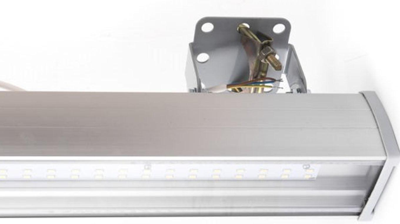 Низковольтный линейный светодиодный светильник SVT-P-UL-24Вт-LV-24V AC