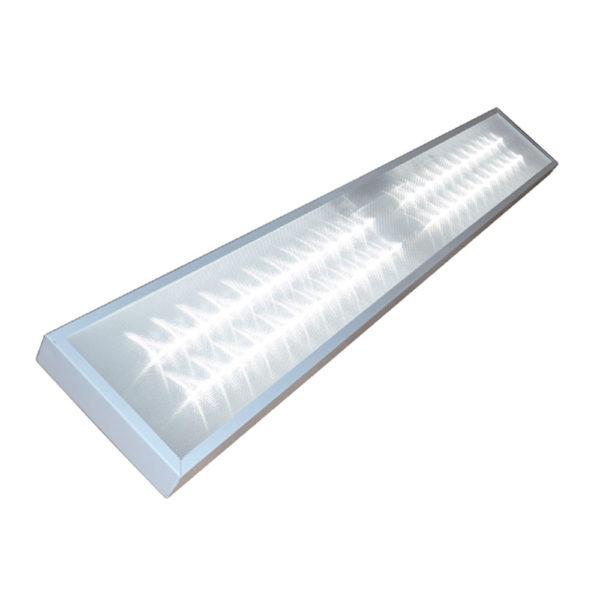 Светильник светодиодный офисный LUX-FS-RO-62-40-1195х180х40-P 62Вт IP40