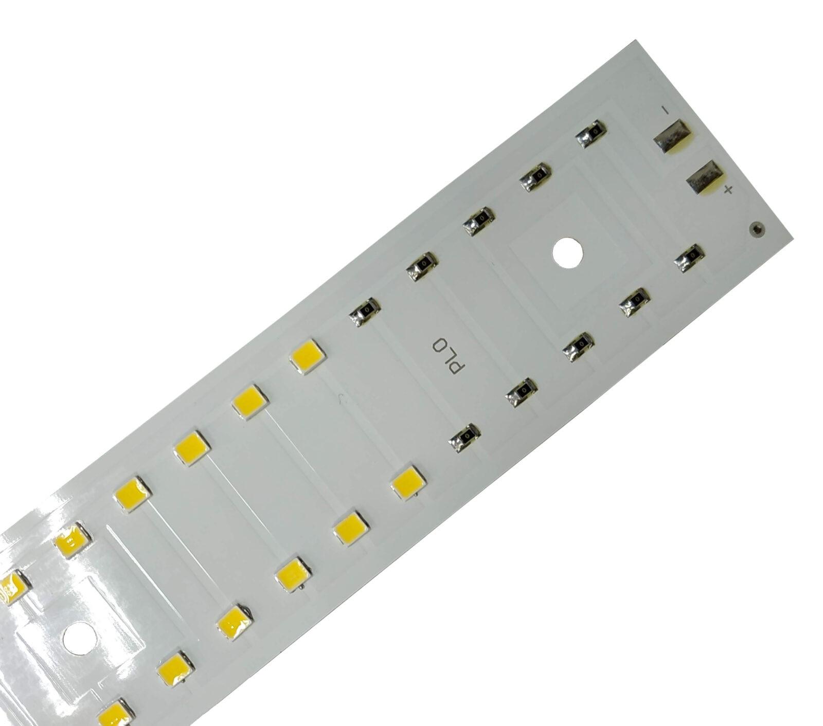 Светодиодный модуль PLO 40 Вт 140 Лм/вт 395х30 мм