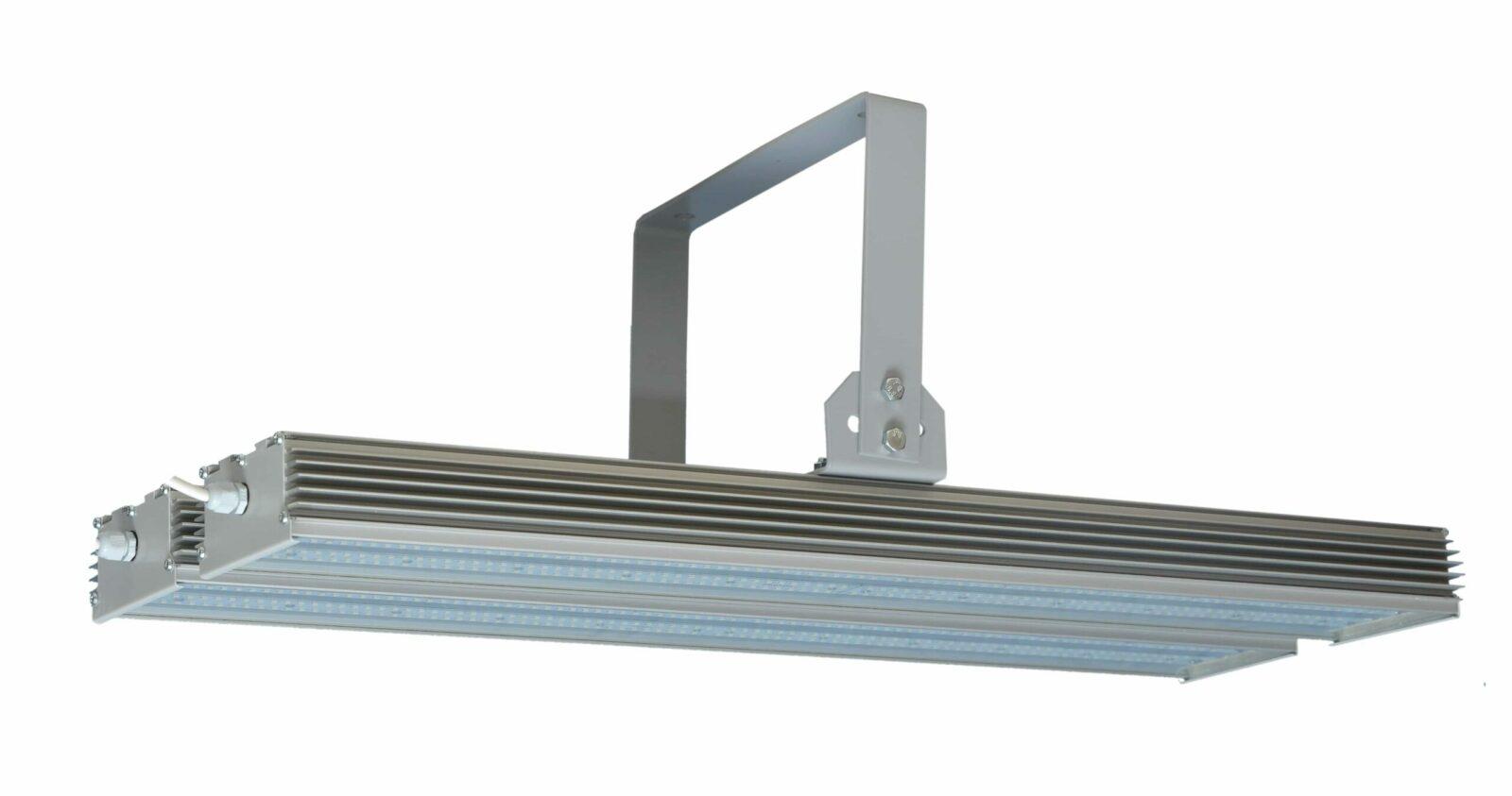 Уличный светодиодный светильник PLO 05-010-5-400 Вт (2х200) Лира