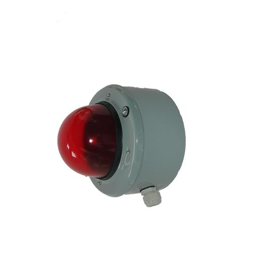 Светосигнальный прибор СС-56 с решеткой красный 60Вт