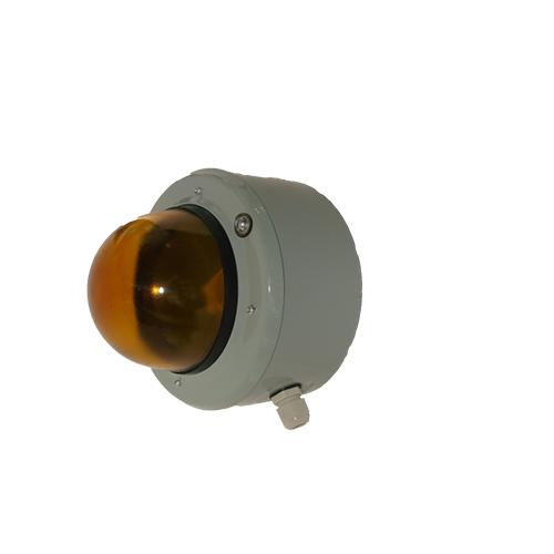 Светосигнальный прибор СС-56 с решеткой желтый 60Вт